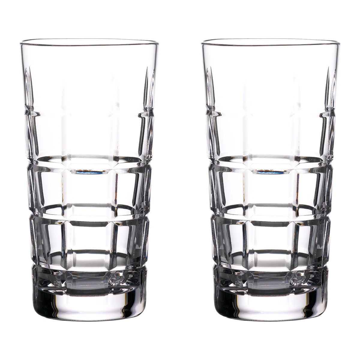 Waterford Crystal Gin Journeys Cluin Hiball Glasses, Pair