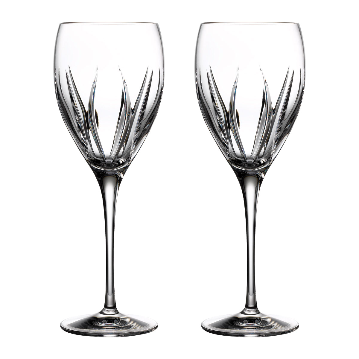 Waterford Crystal Ardan Tonn Wine Glasses, Pair