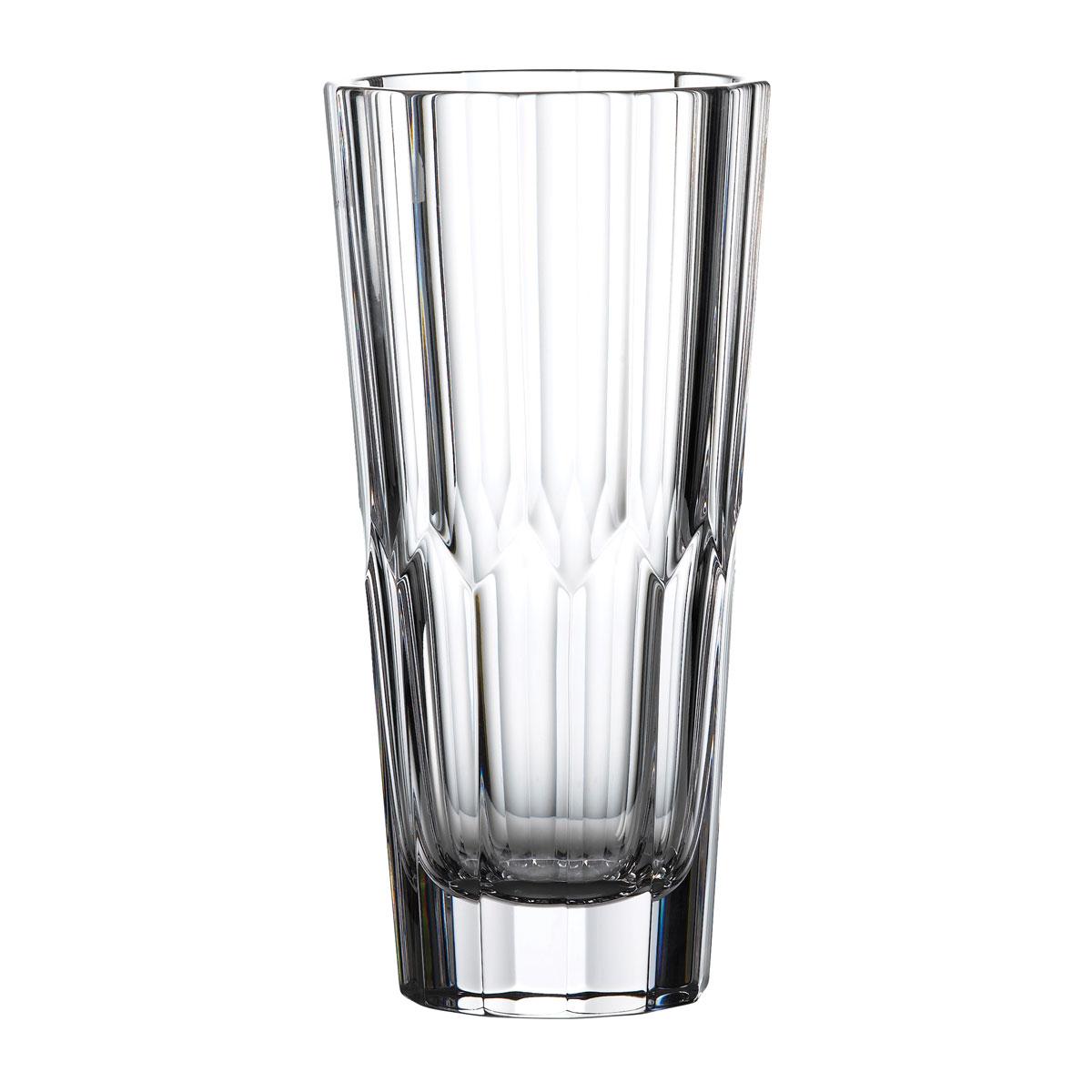 "Waterford Crystal Fleurology Jeff Leatham Icon 10"" Vase, Clear"