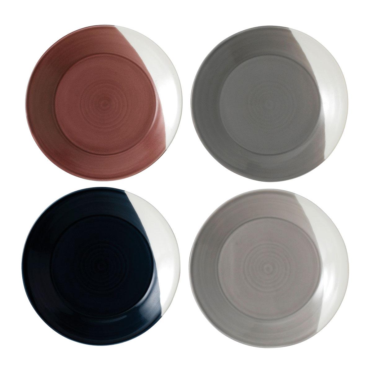 "Royal Doulton Bowls Of Plenty Plate 9.3"" Set of 4"