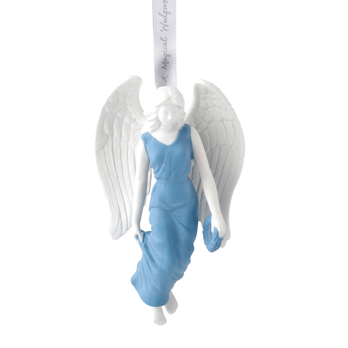 Wedgwood Figural Angel Christmas Ornament