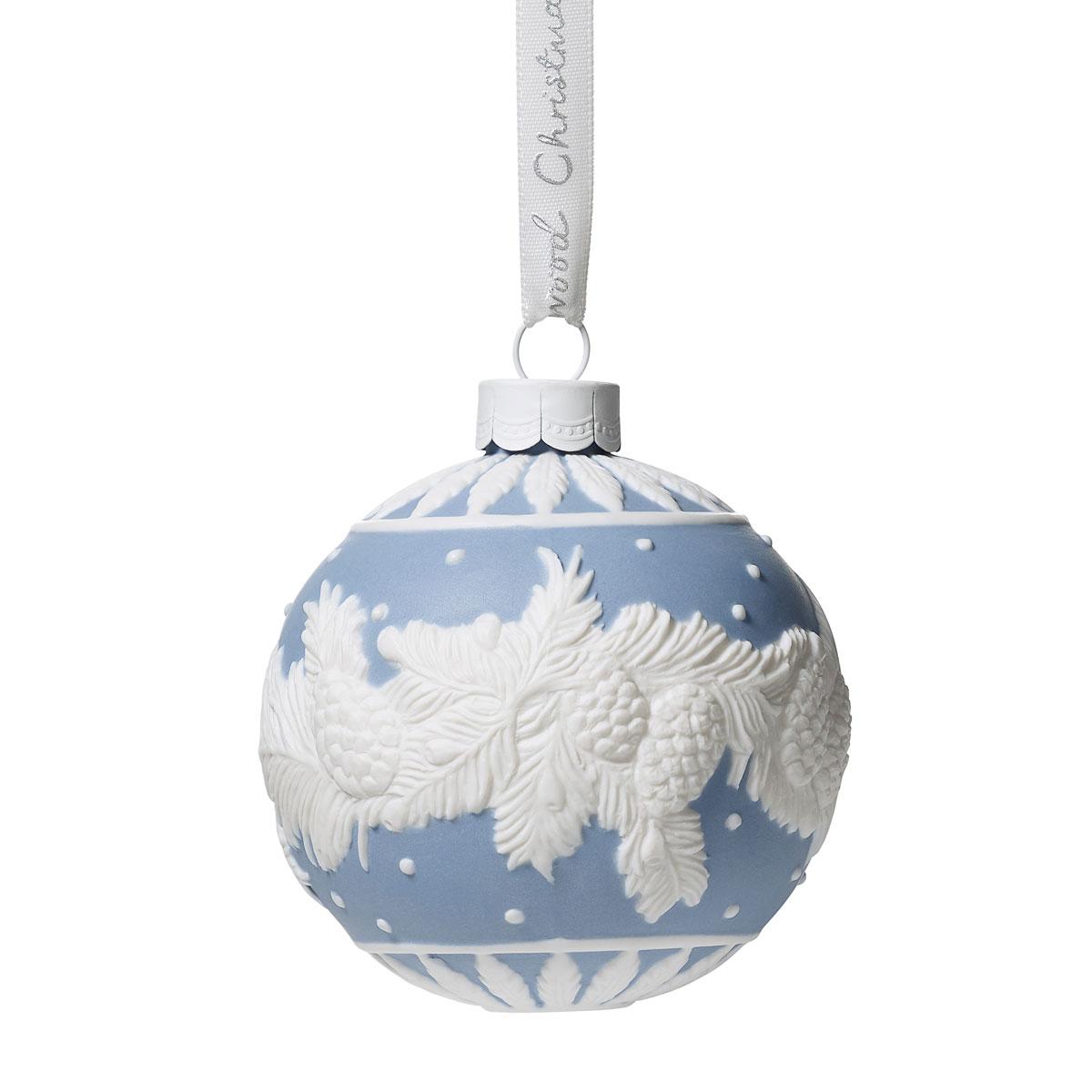 Wedgwood 2019 Winter Pine Christmas Ornament