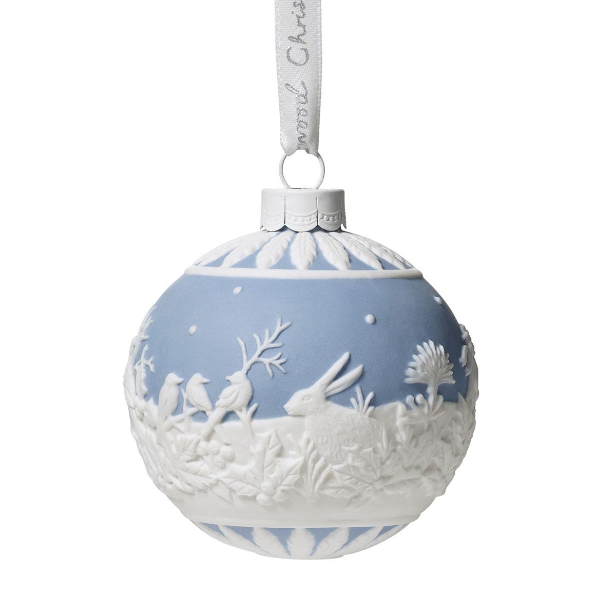 Wedgwood 2019 Winter Walk Christmas Ornament
