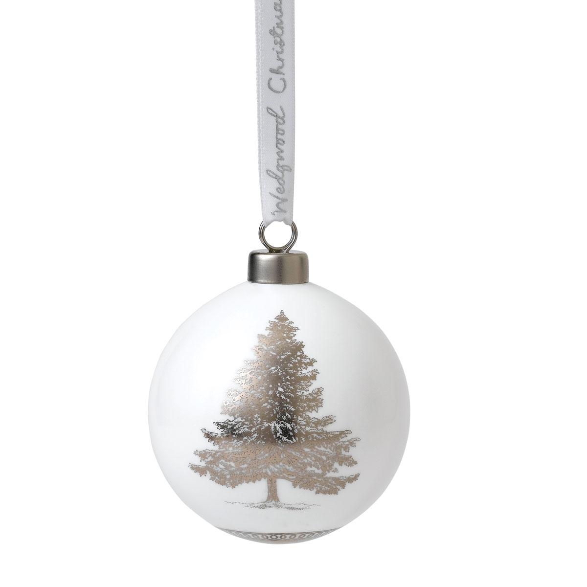 Wedgwood Fine Bone China Christmas Tree Christmas Ornament