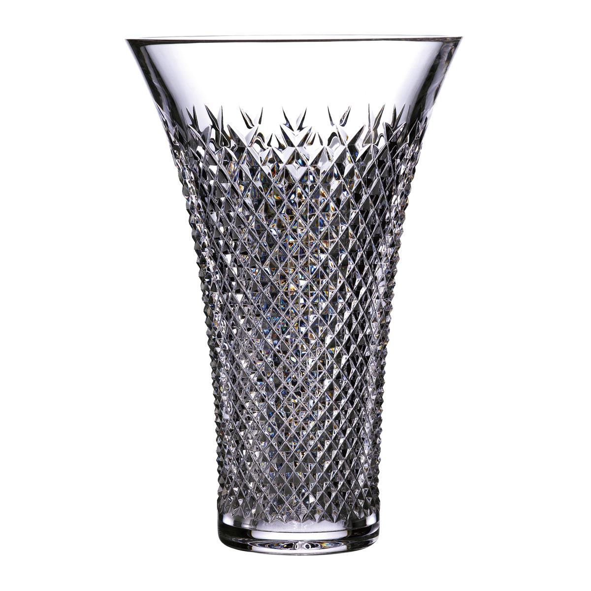 """House of Waterford Treasures of the Sea Alana 12"""" Flared Vase"""
