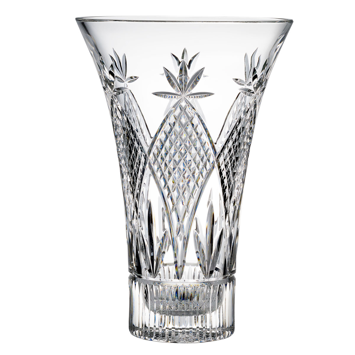 "Waterford Crystal, Powerscourt Statement 14"" Vase by Tom Power, Limited Edition"