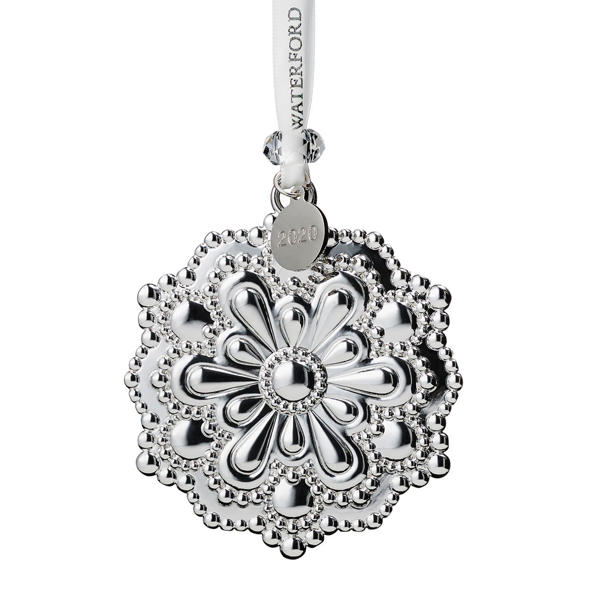 Waterford 2020 Silver Heritage Snowflake Ornament