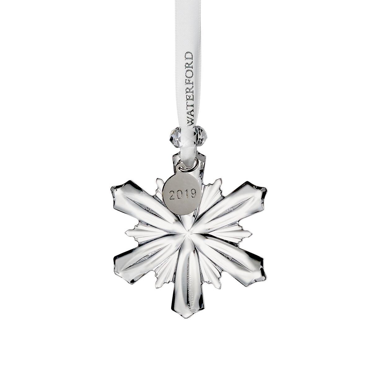 Waterford Crystal 2019 Mini Snowflake Christmas Ornament