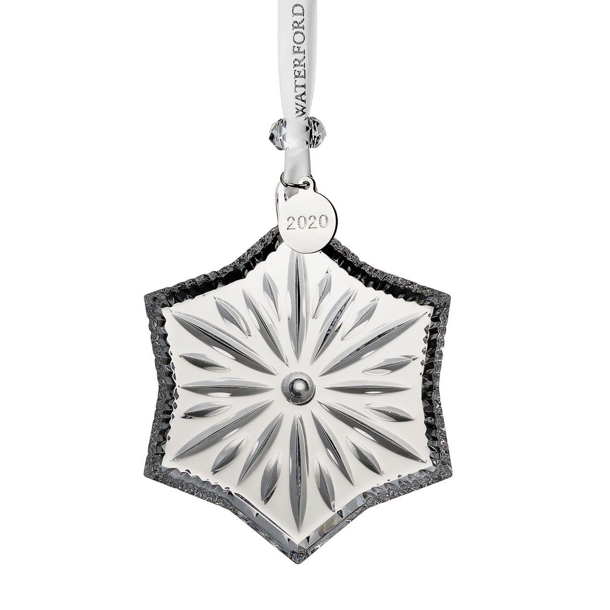 Waterford 2020 Heritage Snowflake Christmas Ornament