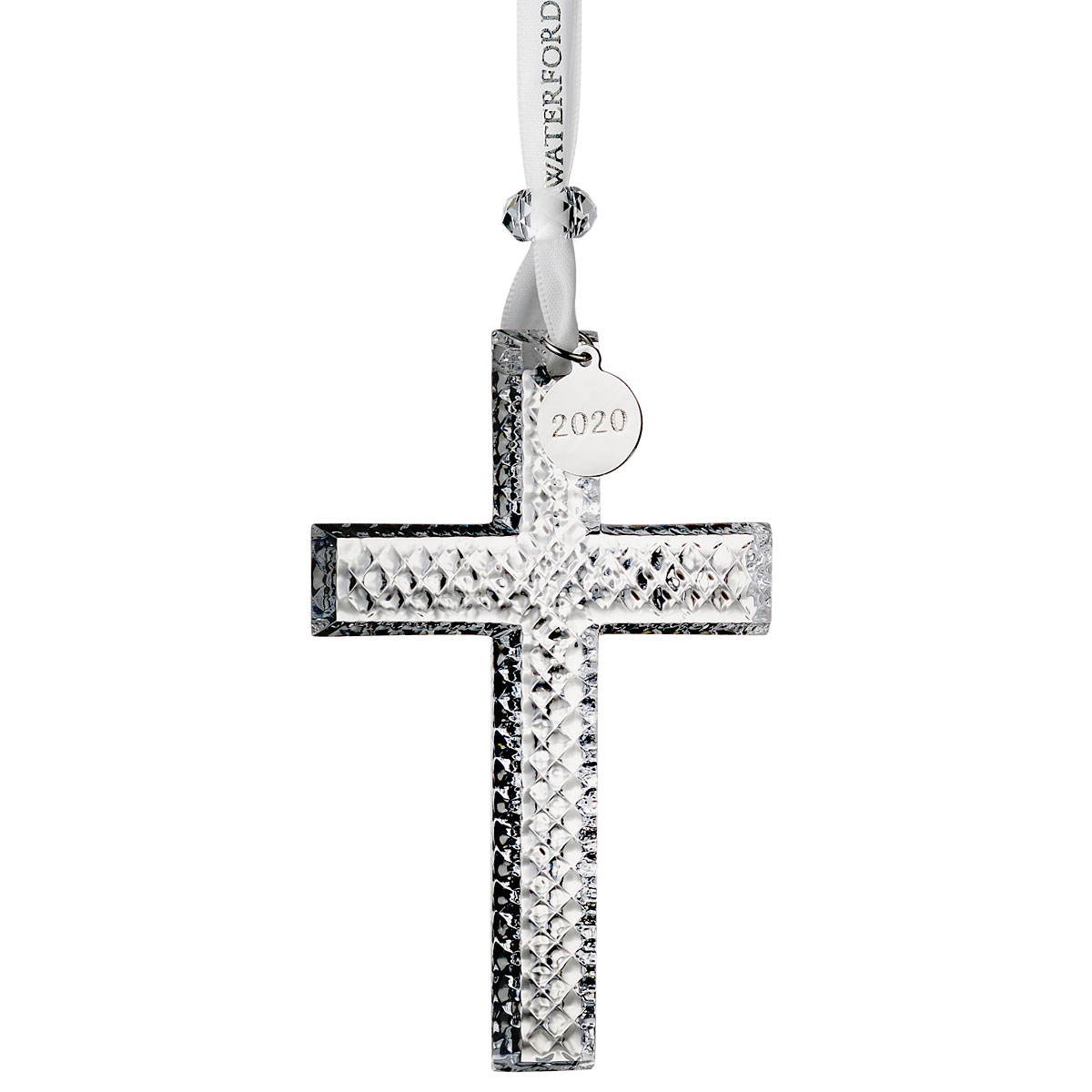 Waterford Crystal 2019 Cross Christmas Ornament