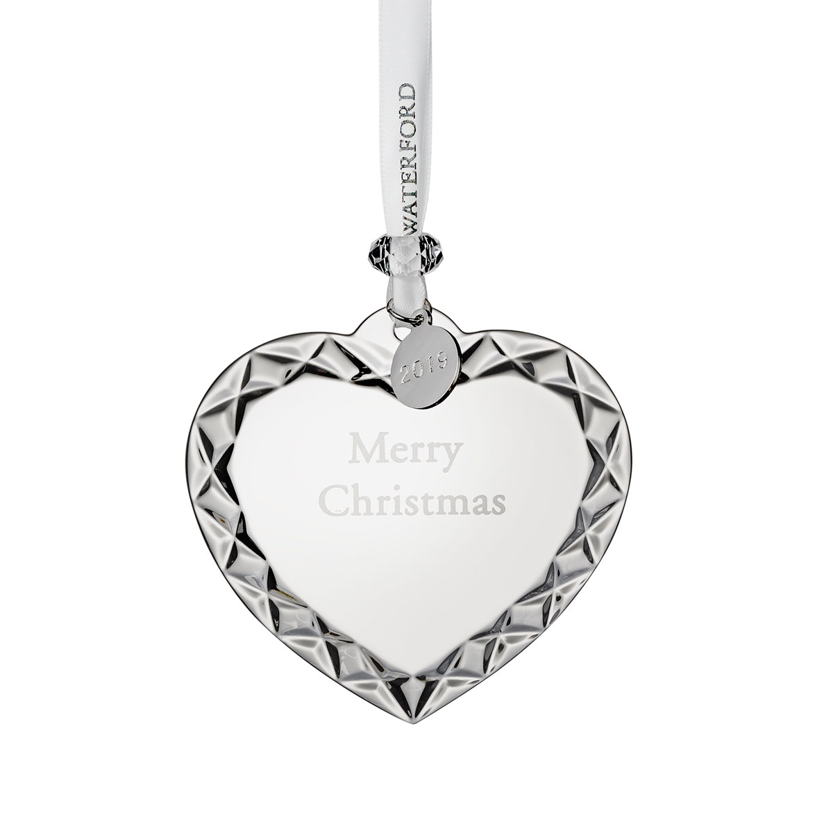 Waterford Crystal 2020 Heart Christmas Ornament