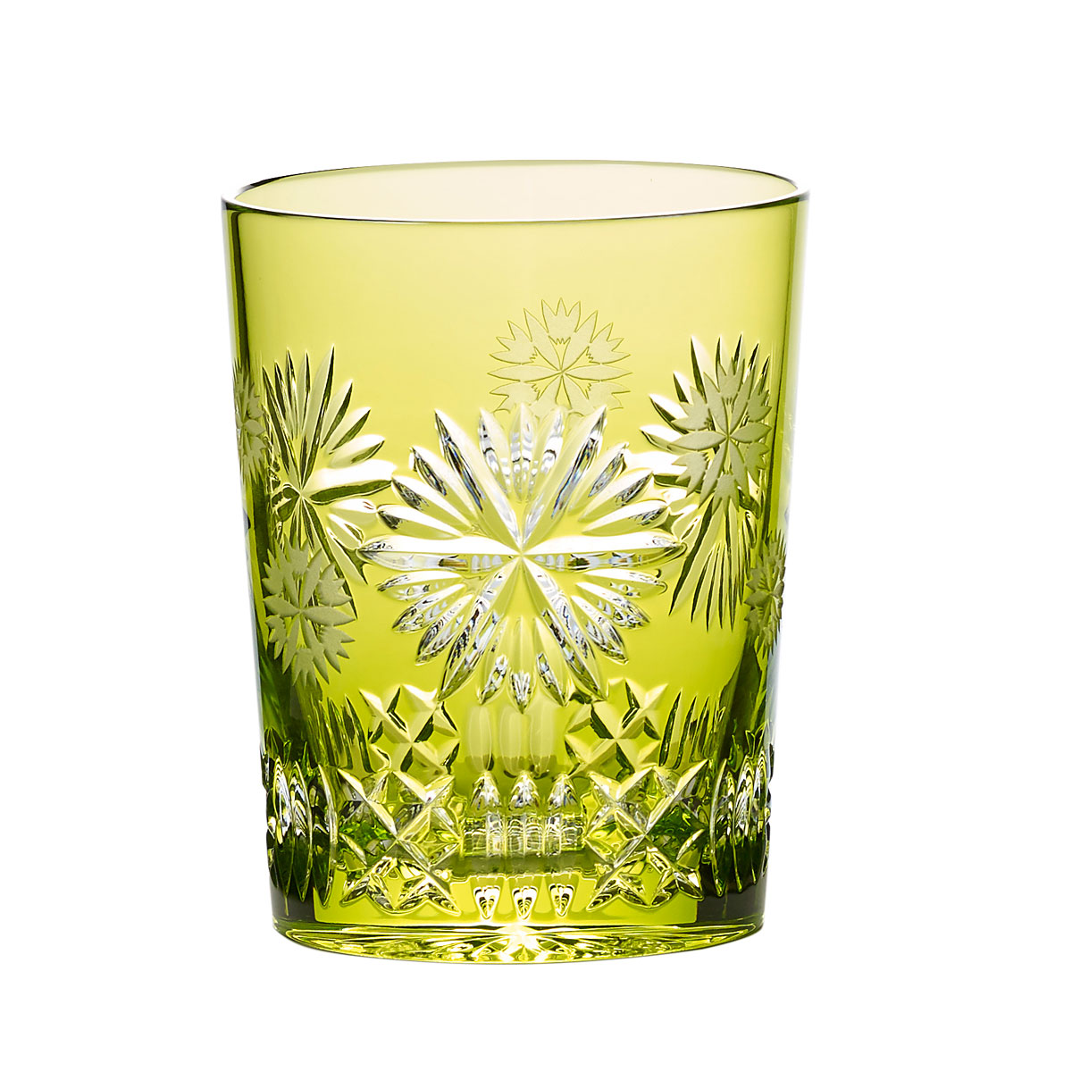 Waterford Snowflake Wishes Prosperity Prestige Edition, Lime Crystal DOF Tumbler Single