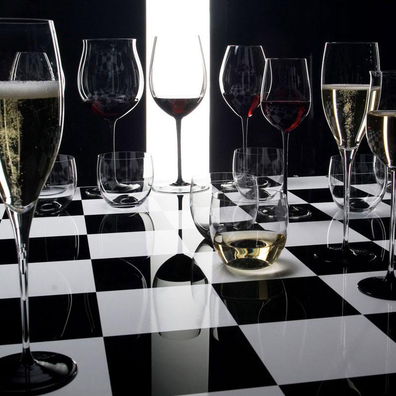 Riedel Sommeliers, Hand Made, Black Tie Loire Glass, Single
