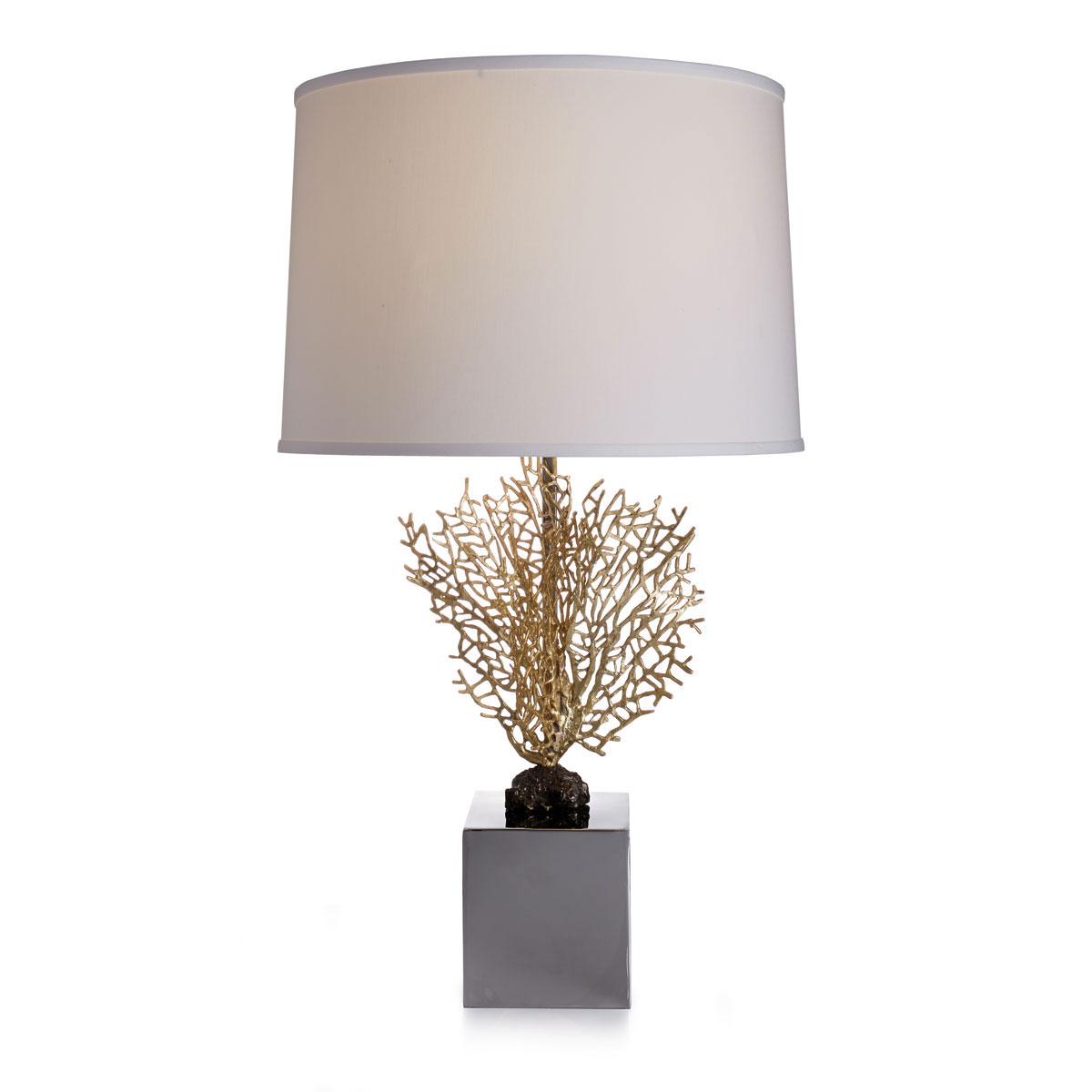 Michael Aram Fan Coral Table Lamp
