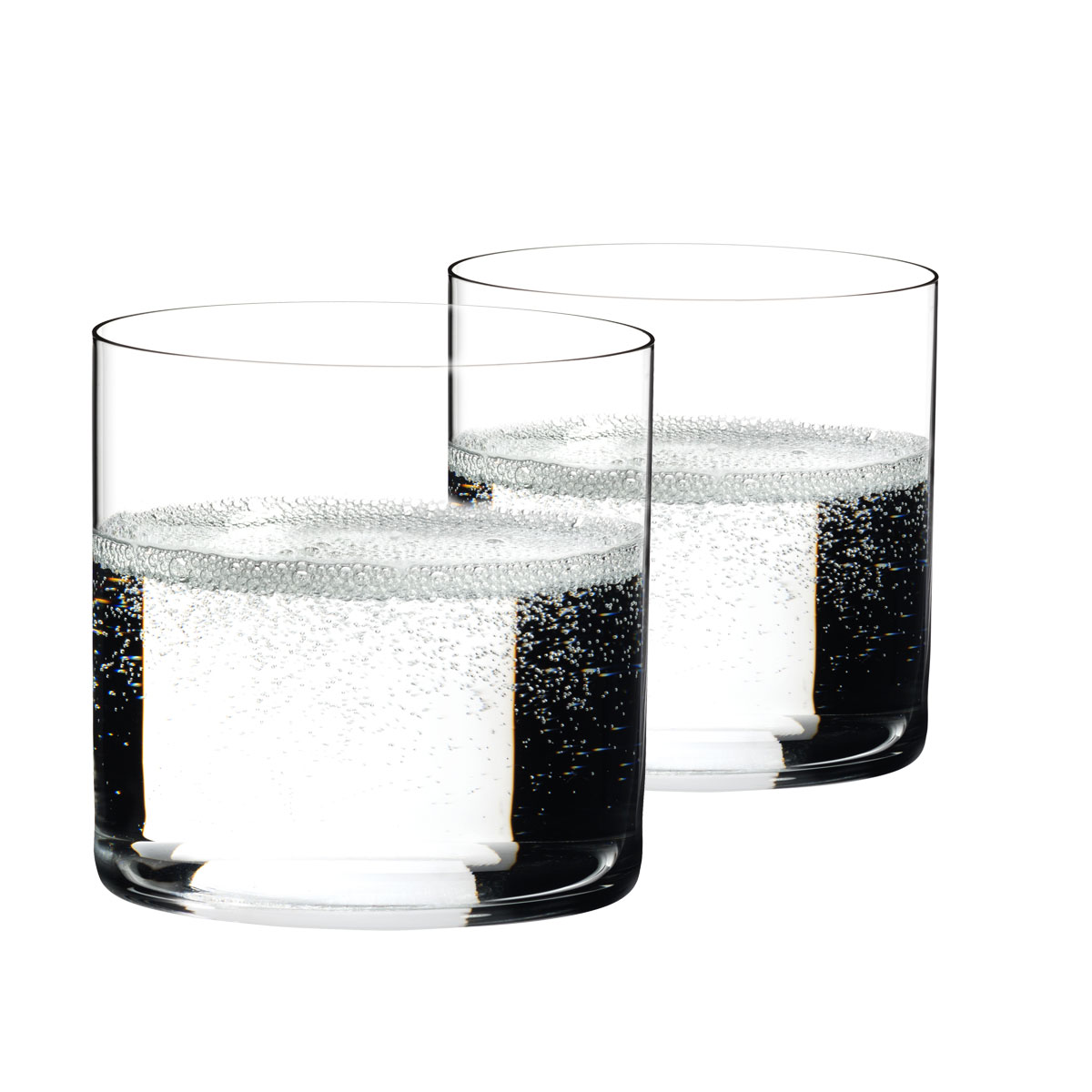 Riedel O H2O Classic Bar Water Crystal Tumblers, Pair