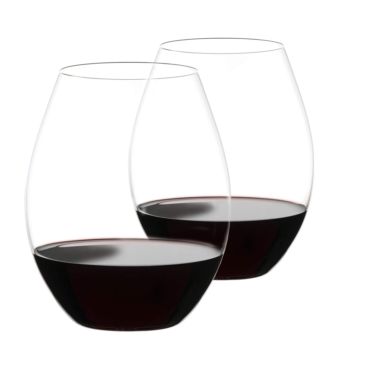 Riedel O Big O Syrah Stemless Wine Glasses, Pair