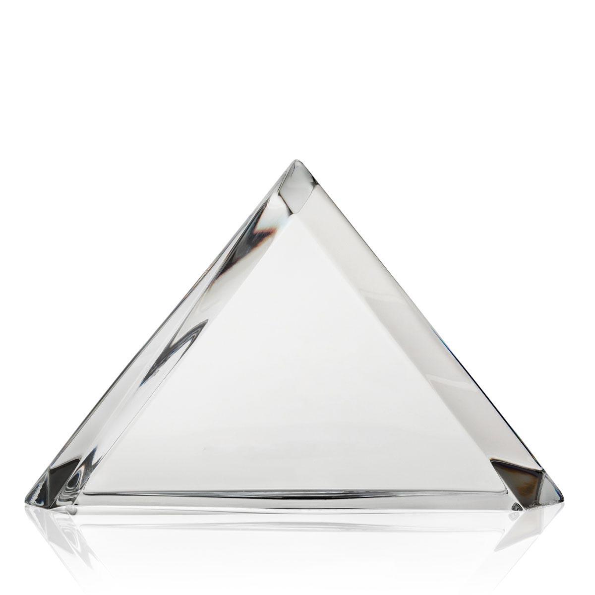 Steuben Desk Accessory, Euclidean Award Large