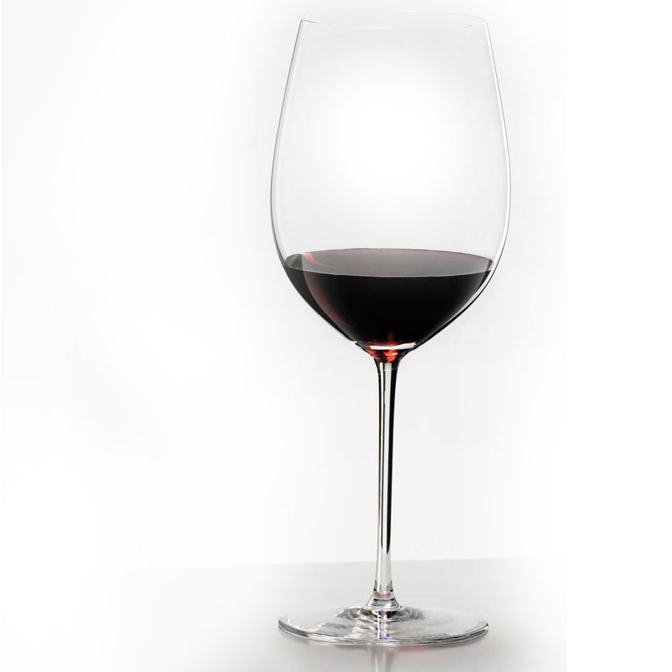 Riedel Sommeliers, Hand Made Grand Cru Bordeaux, Cabernet Wine Glass, Single