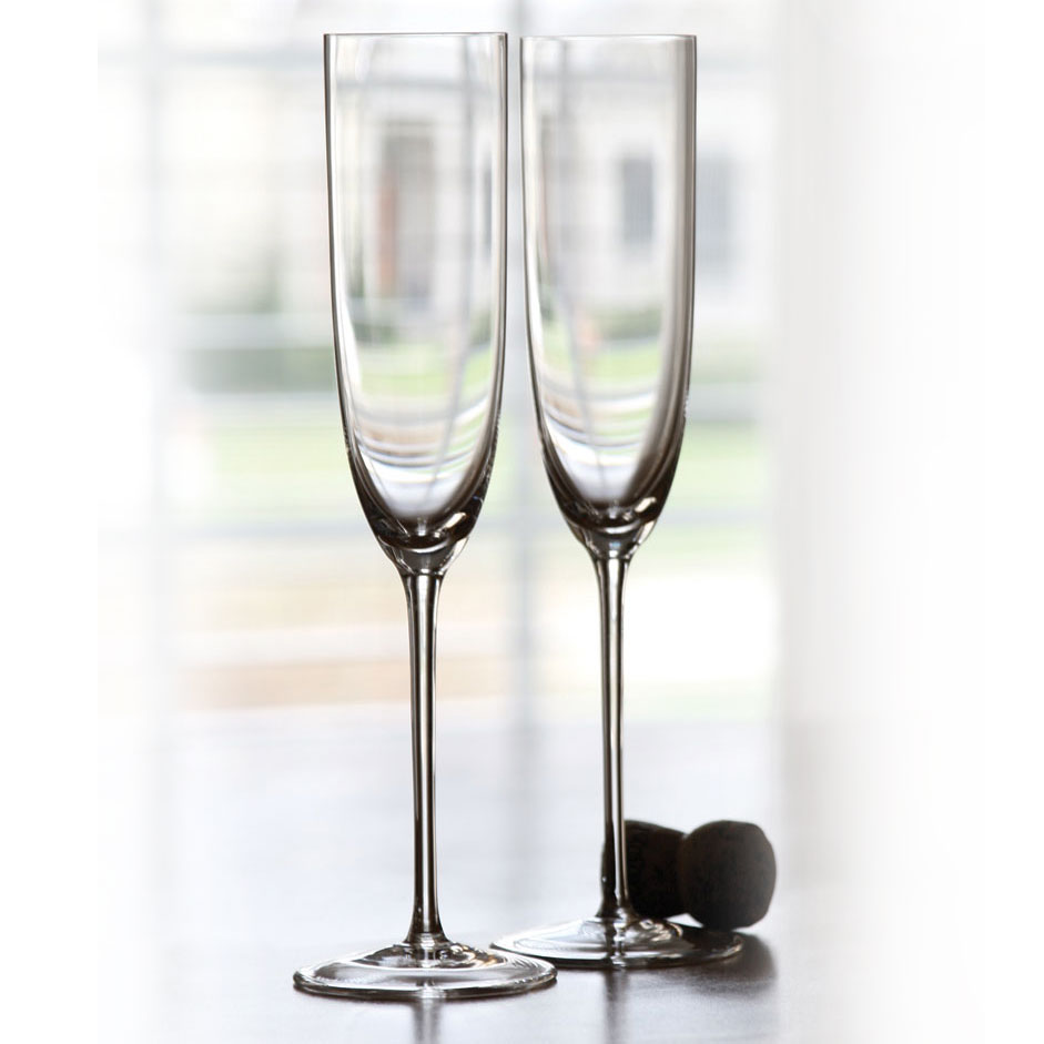 Riedel Sommeliers Hand Made Champagne Crystal Glass, Single
