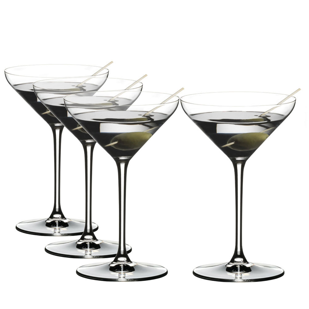 Riedel Extreme Martini Value Gift Set, 3+1 Free