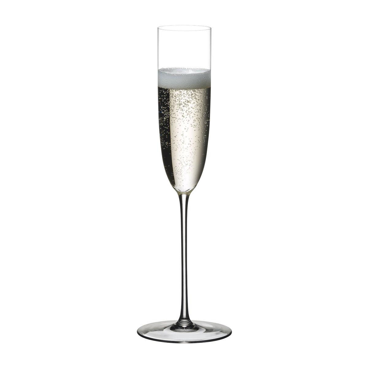 Riedel Sommeliers, Hand Made, Superleggero Champagne Flute Glass, Single