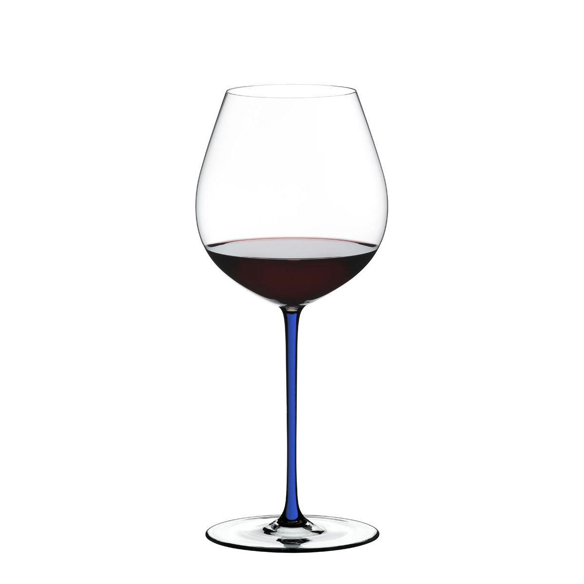 Riedel Fatto A Mano, Old World Pinot Noir Wine Glass, Blue