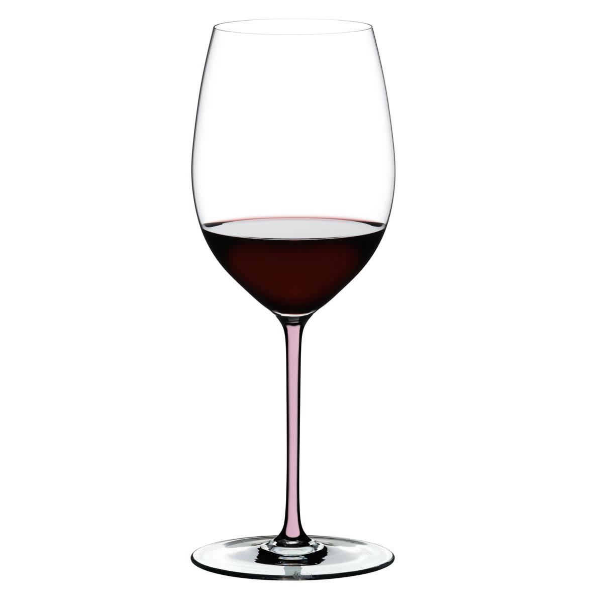 Riedel Fatto A Mano Cabernet Pink Wine Glass, Single