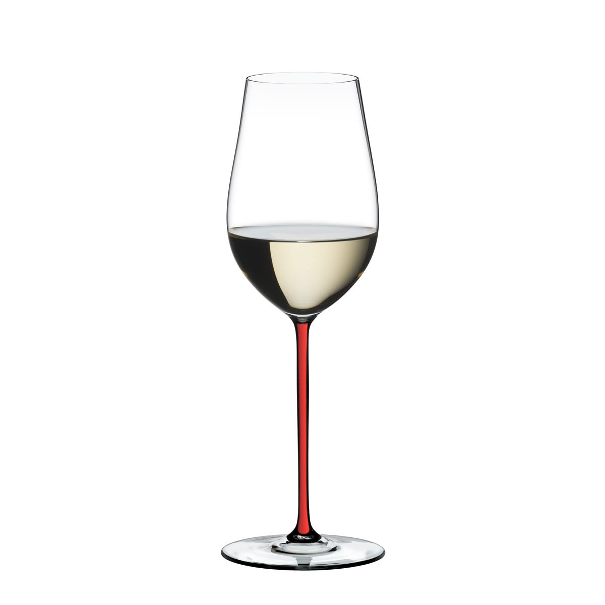 Riedel Fatto A Mano, Riesling, Zinfandel Wine Glass, Red