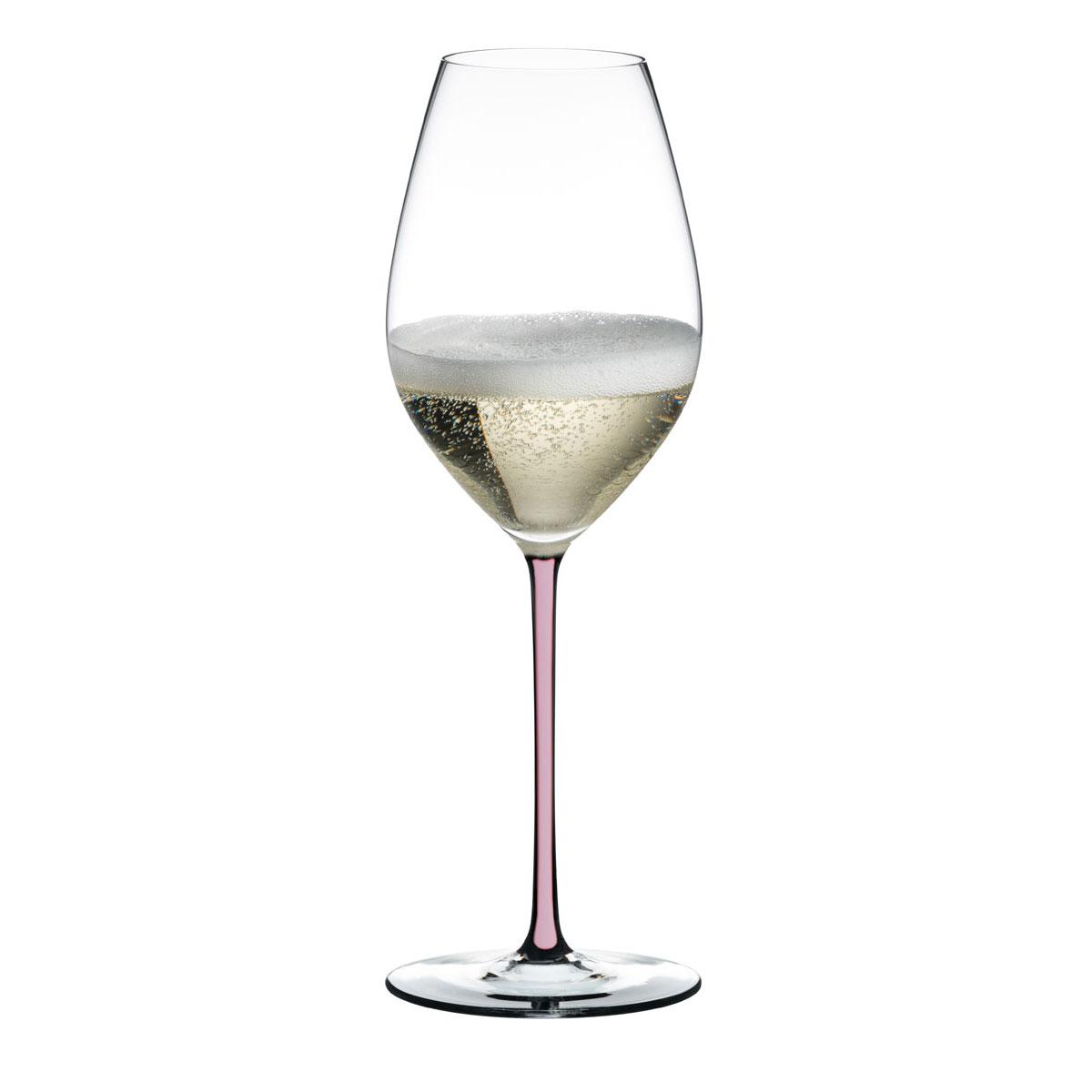 Riedel Fatto A Mano Champagne Pink Wine Glass, Single