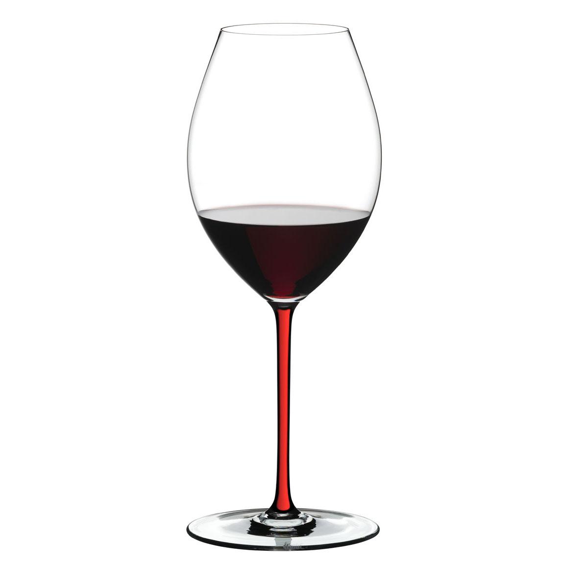 Riedel Fatto A Mano, Old World Syrah Wine Glass, Red