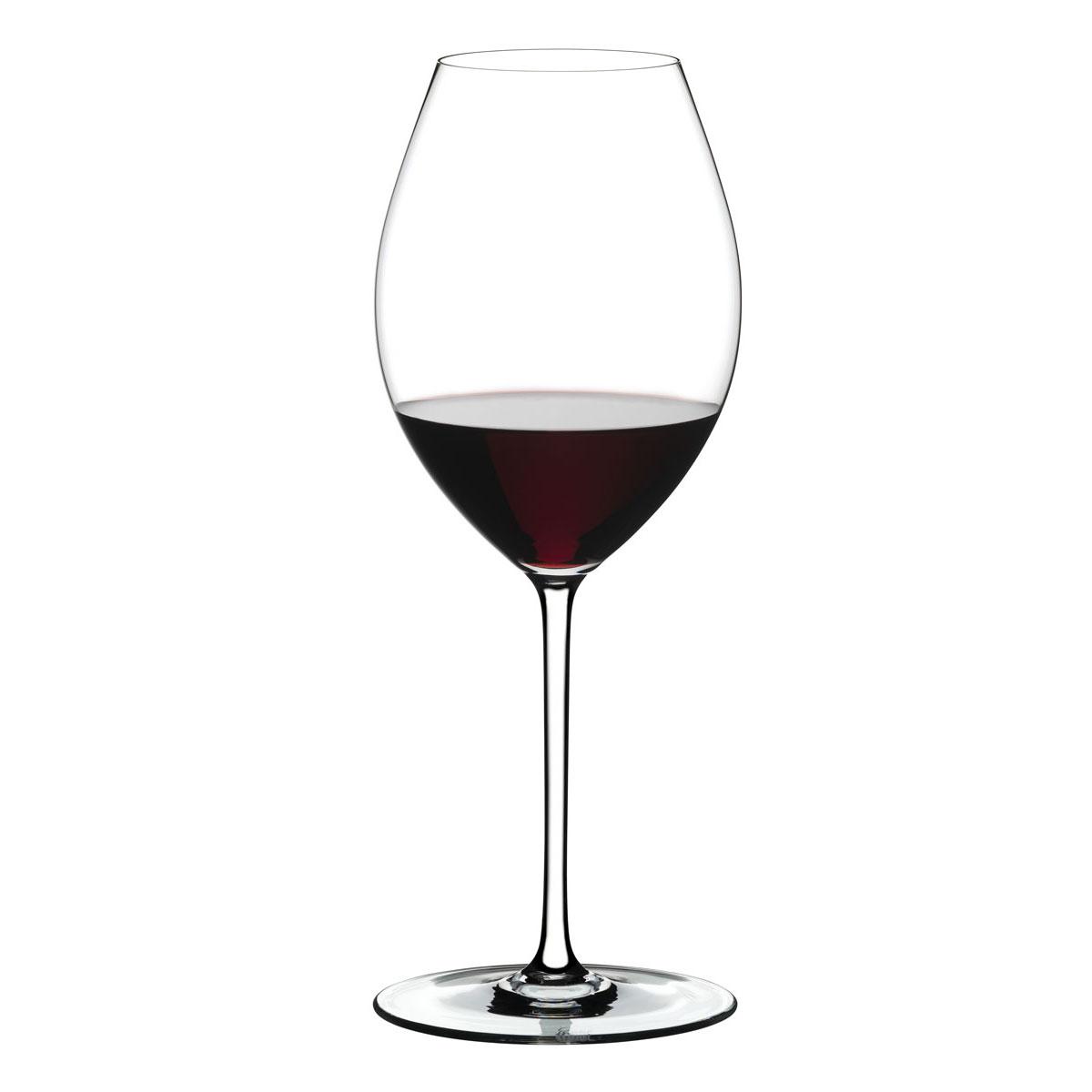Riedel Fatto A Mano, Old World Syrah Wine Glass, White