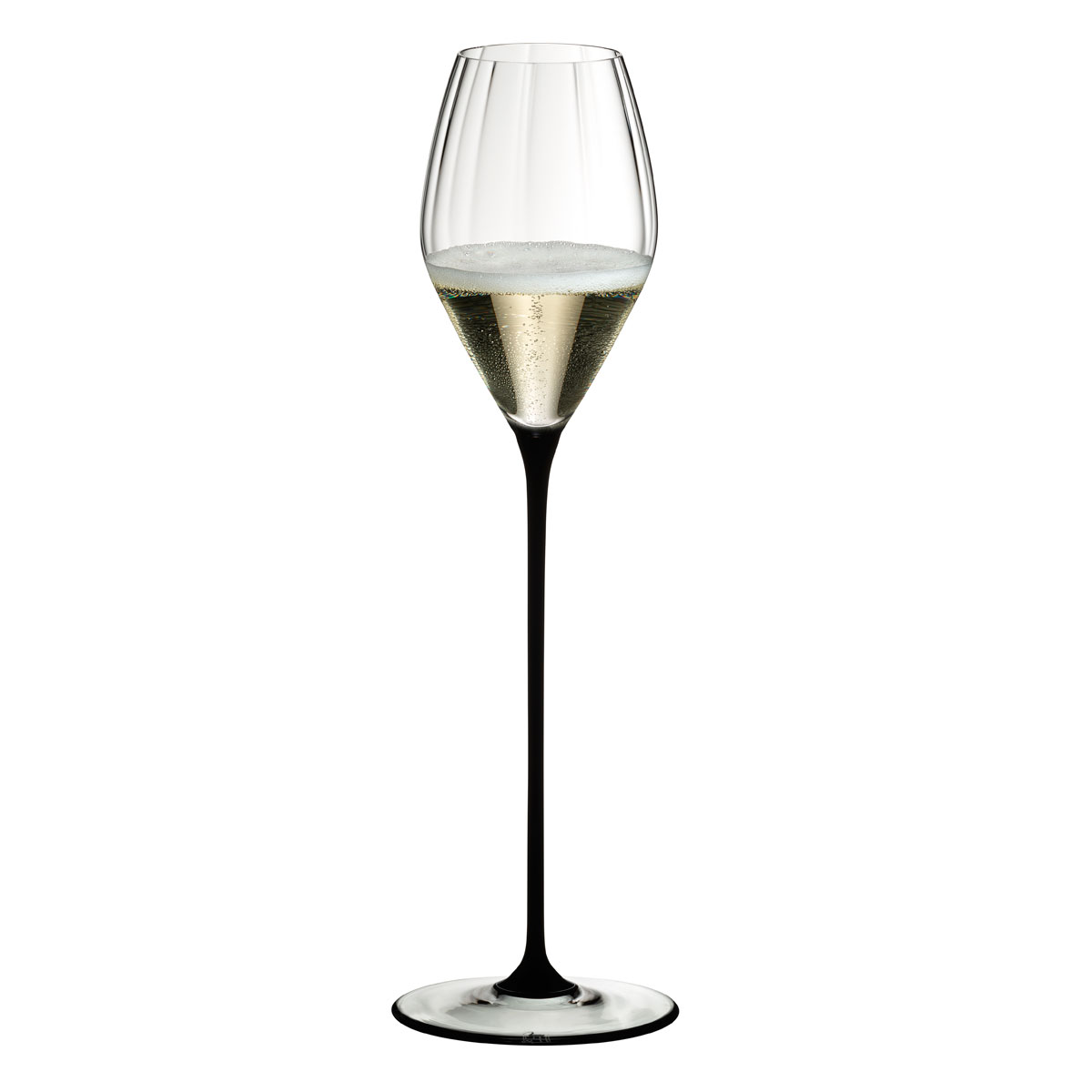 Riedel High Performance Champagne Glass, Single Black