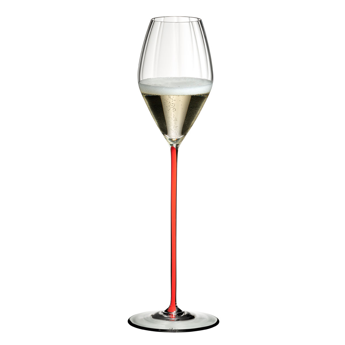 Riedel High Performance Champagne Glass, Single Red