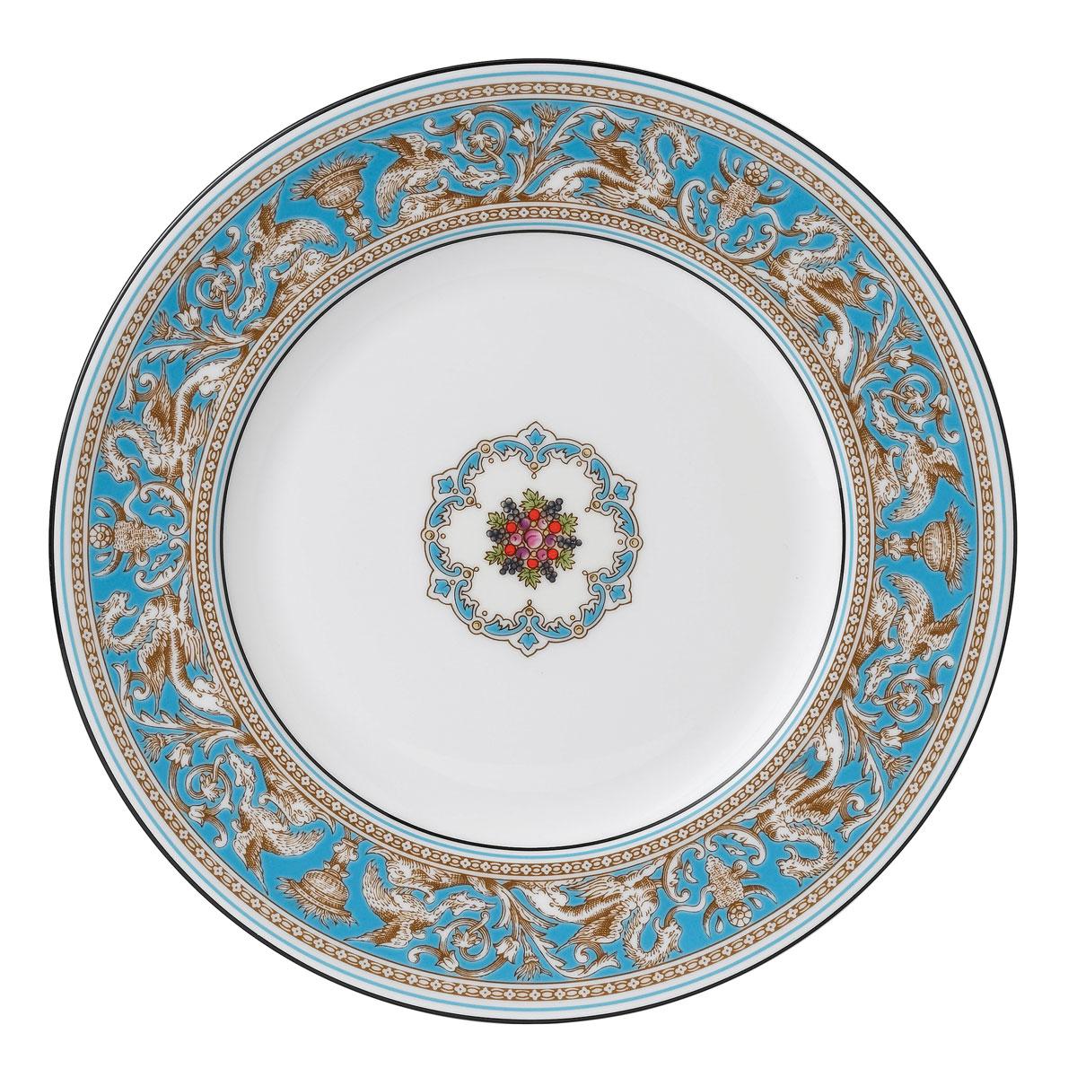 Wedgwood Florentine Turquoise Dinner Plate, Single
