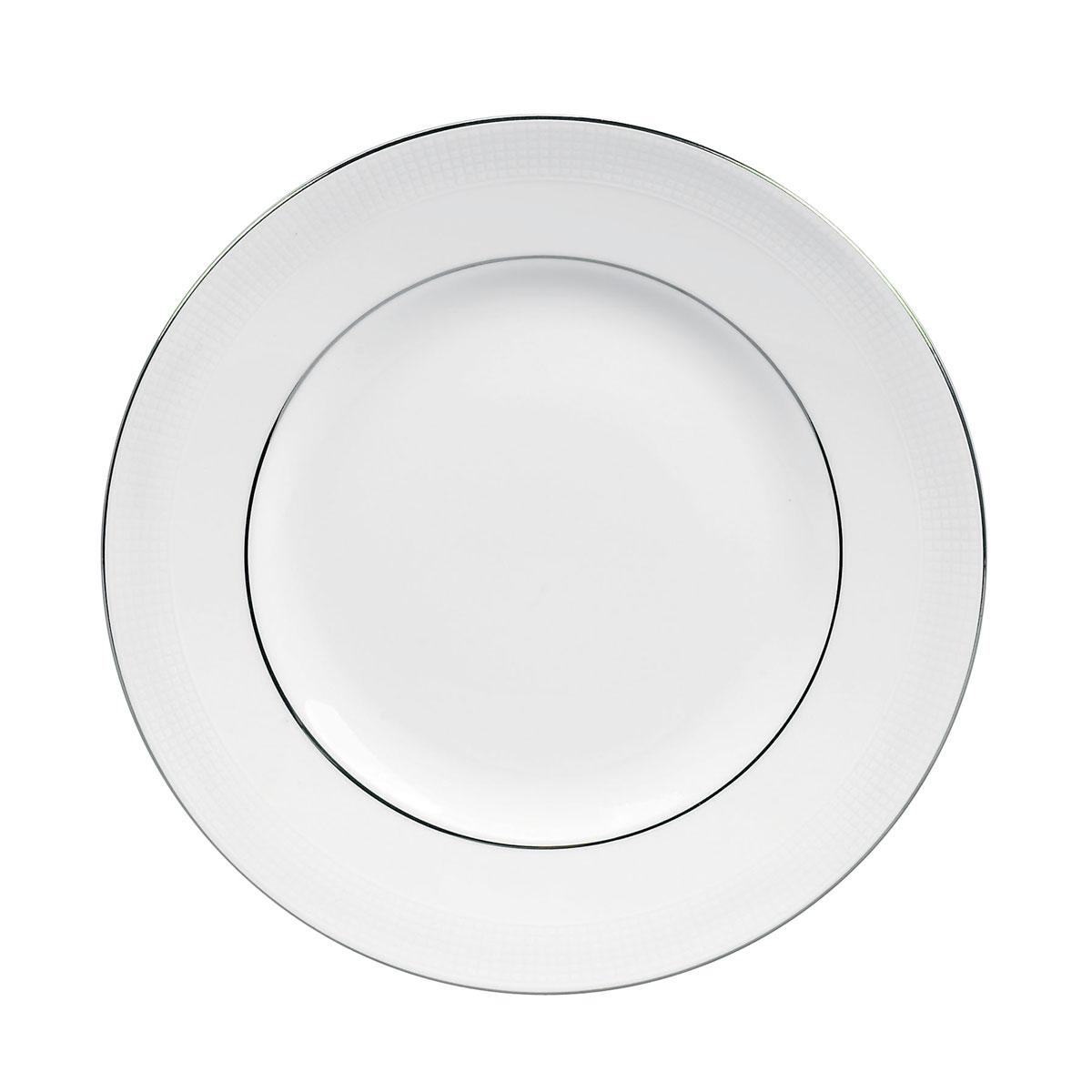 "Vera Wang Wedgwood Blanc Sur Blanc Salad Plate 8"""
