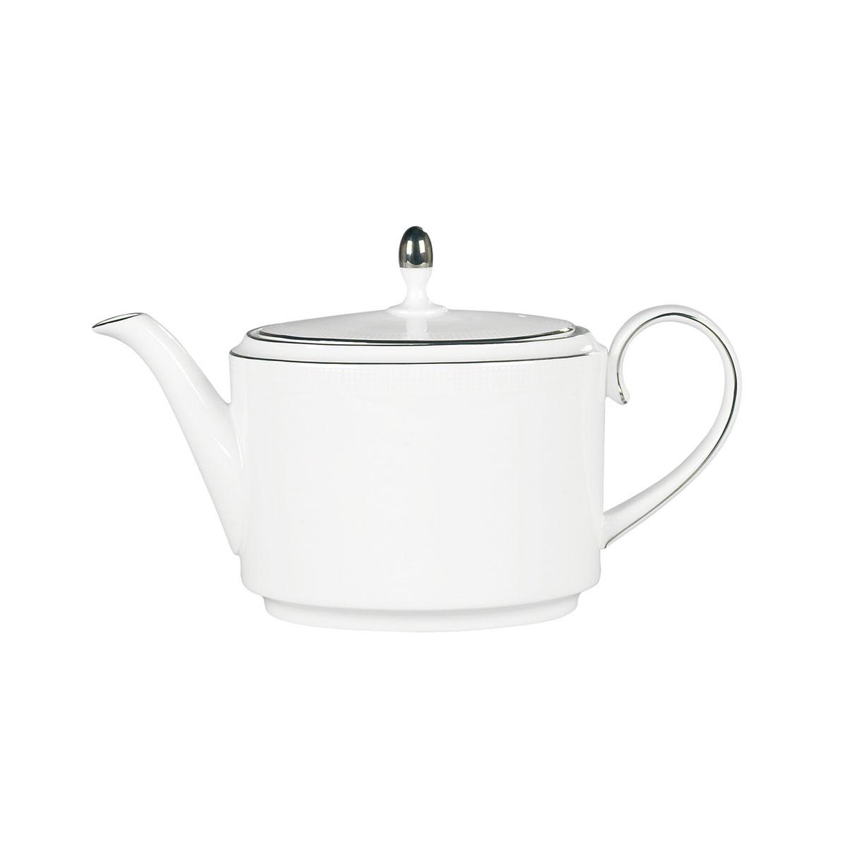 Vera Wang Wedgwood Blanc Sur Blanc Teapot 1.4 Ltr, 47.3oz.