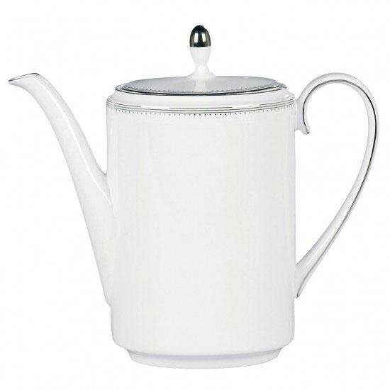 Vera Wang Wedgwood China Grosgrain Coffeepot