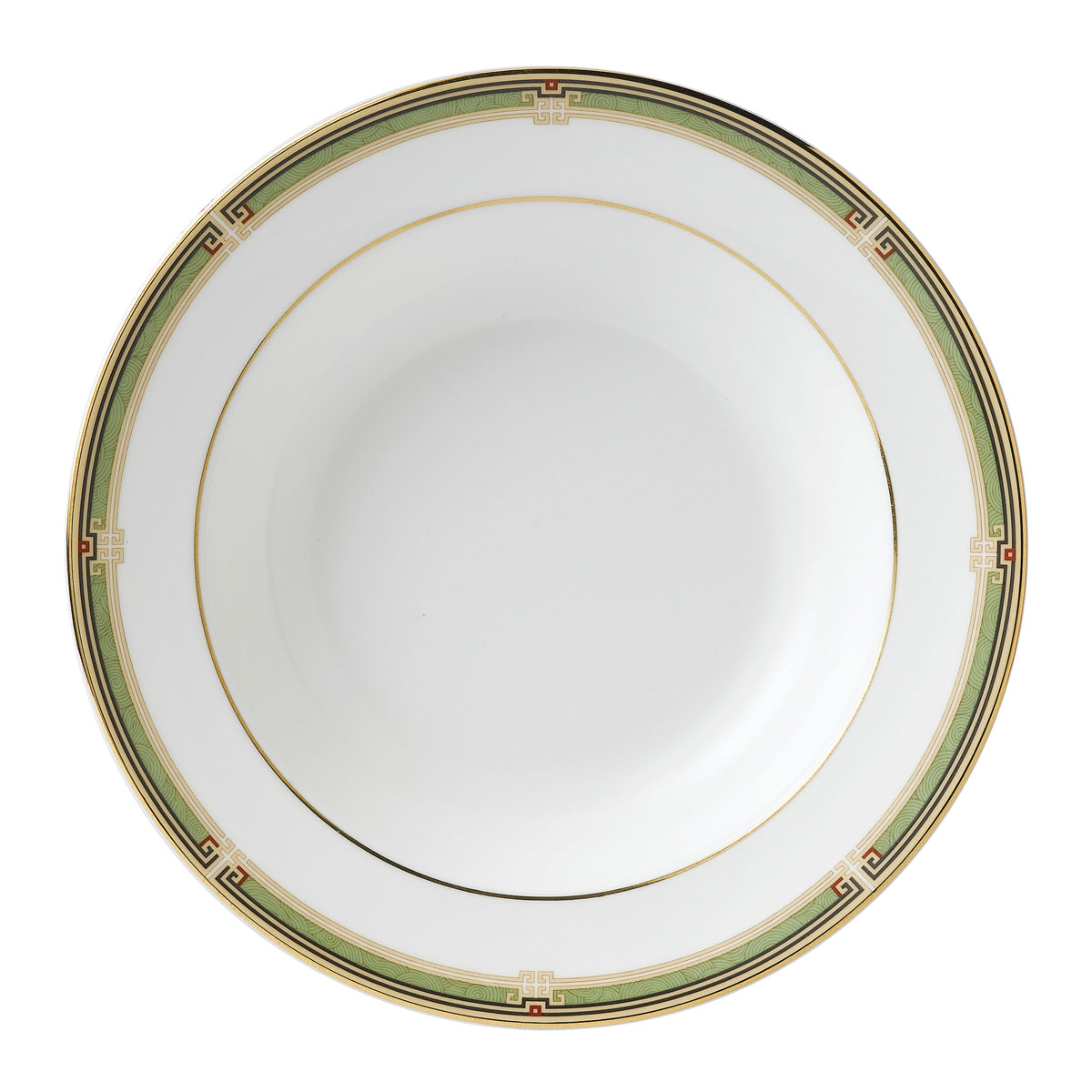 "Wedgwood Oberon Rim Soup 8"" Border"