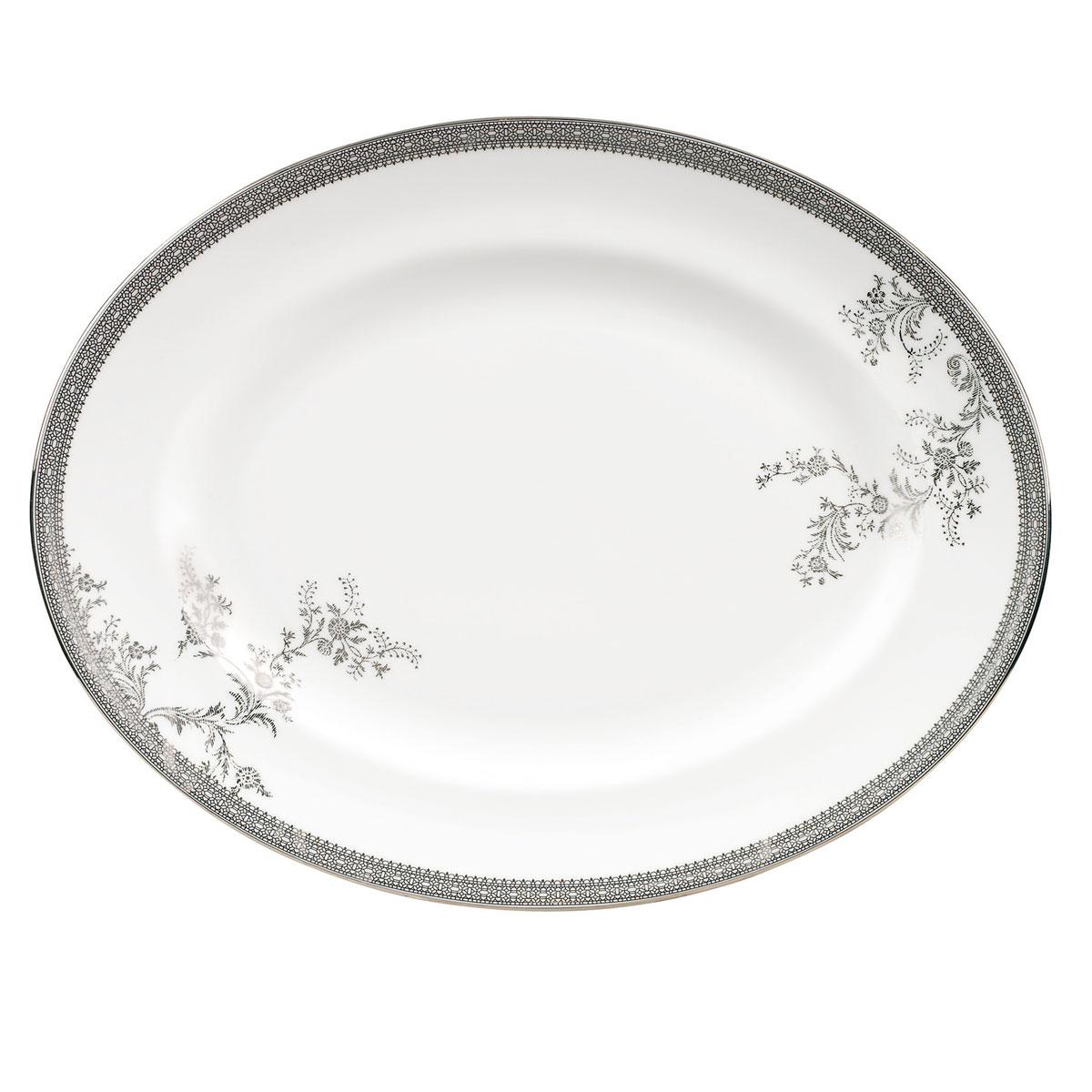 Vera Wang Wedgwood Vera Lace Oval Platter, Single