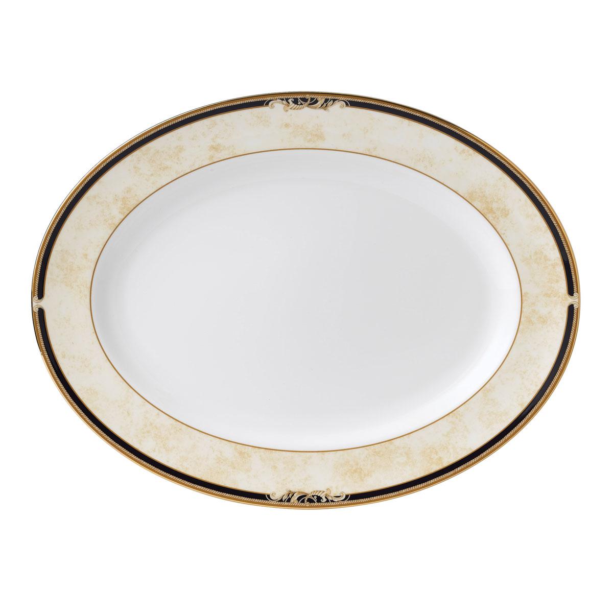 "Wedgwood Cornucopia Oval Platter 15.25"""
