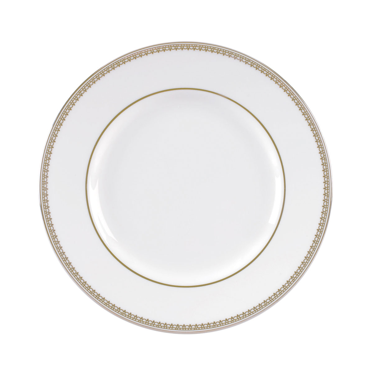 Vera Wang Wedgwood Vera Lace Gold Bread and Butter Plate, Single