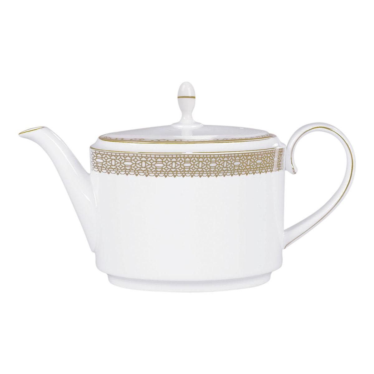 Vera Wang Wedgwood Vera Lace Gold Teapot