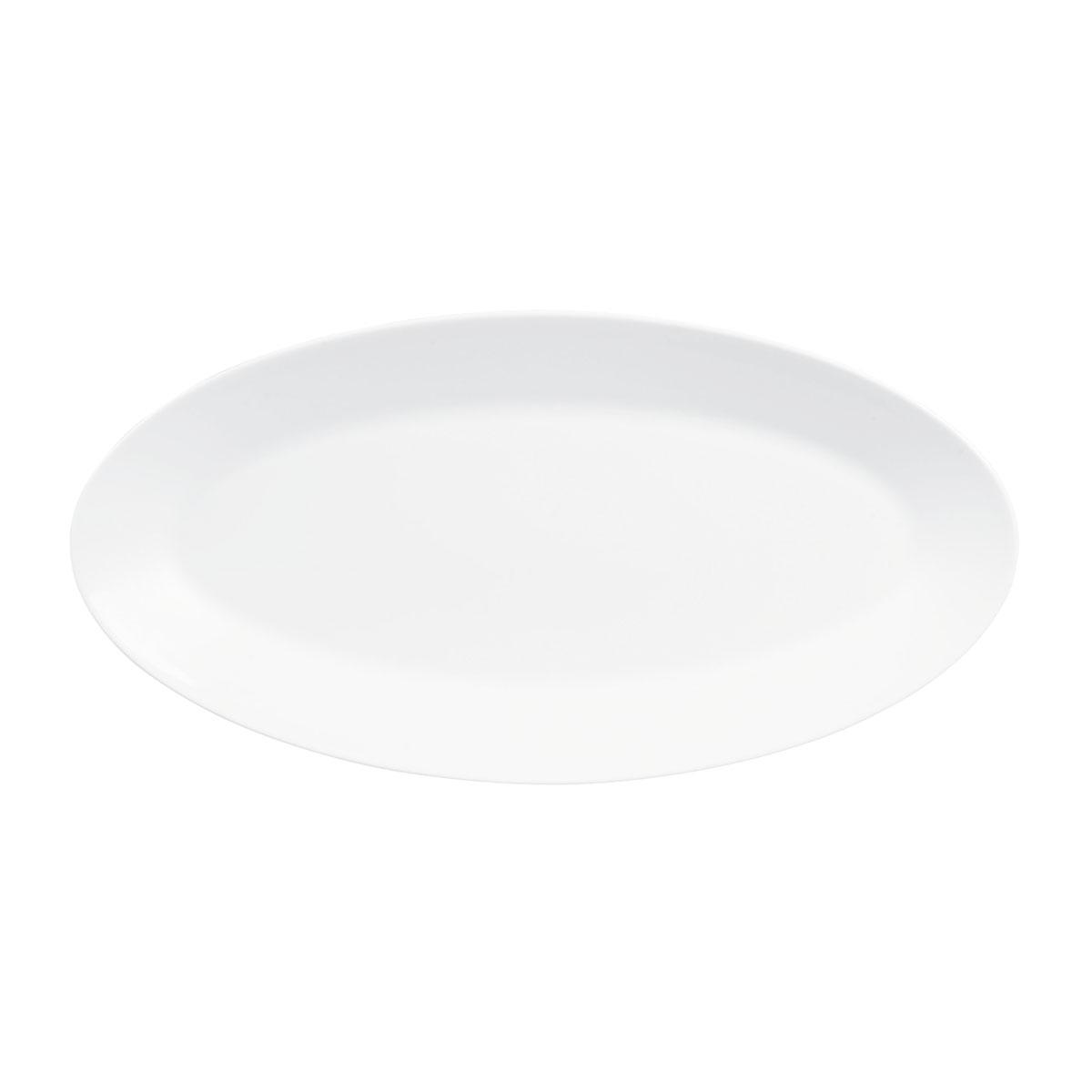 "Wedgwood Jasper Conran White Oval Platter 15.5"""