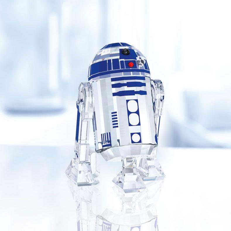 Swarovski Crystal Star Wars R2-D2 Sculpture
