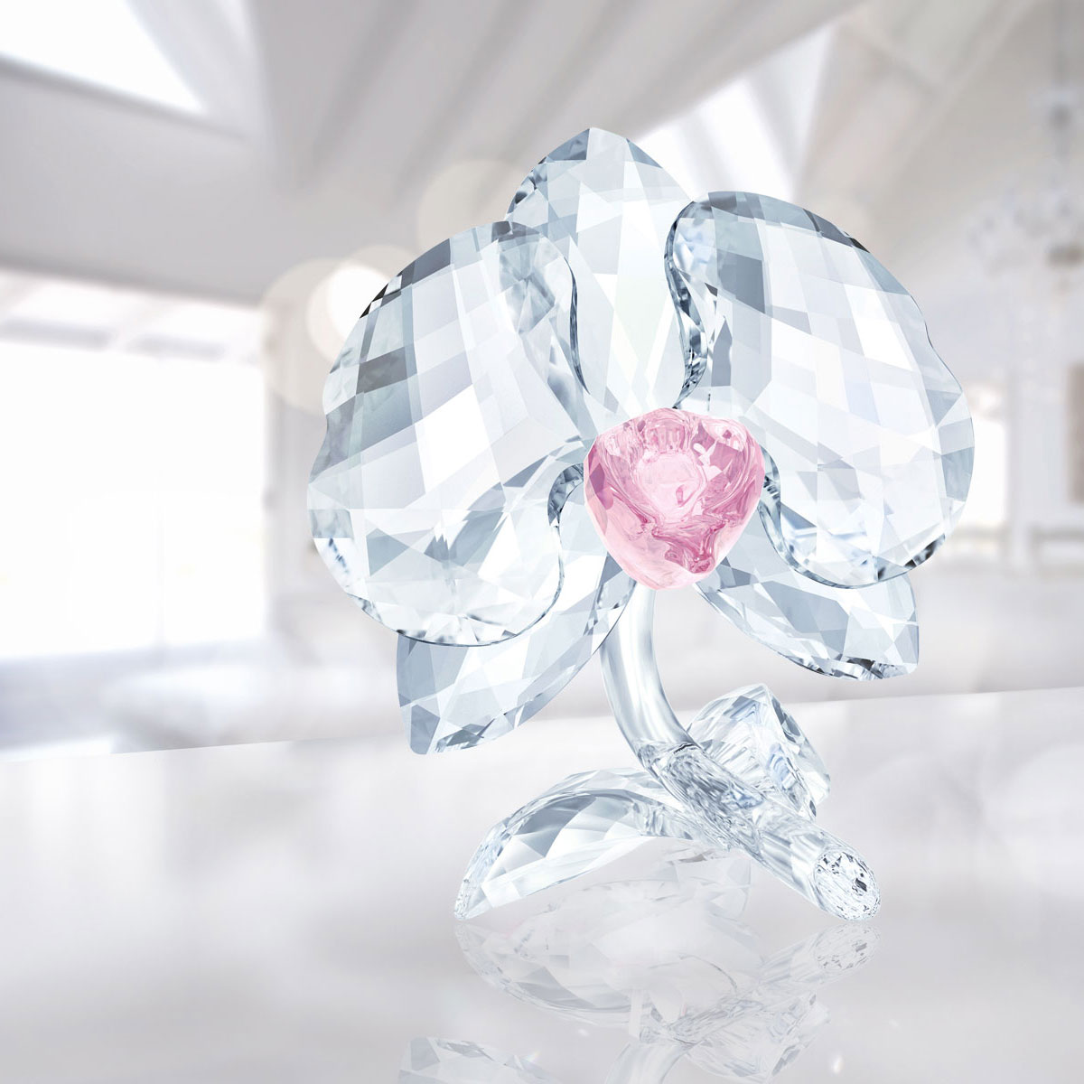 Swarovski Crystal, Orchid