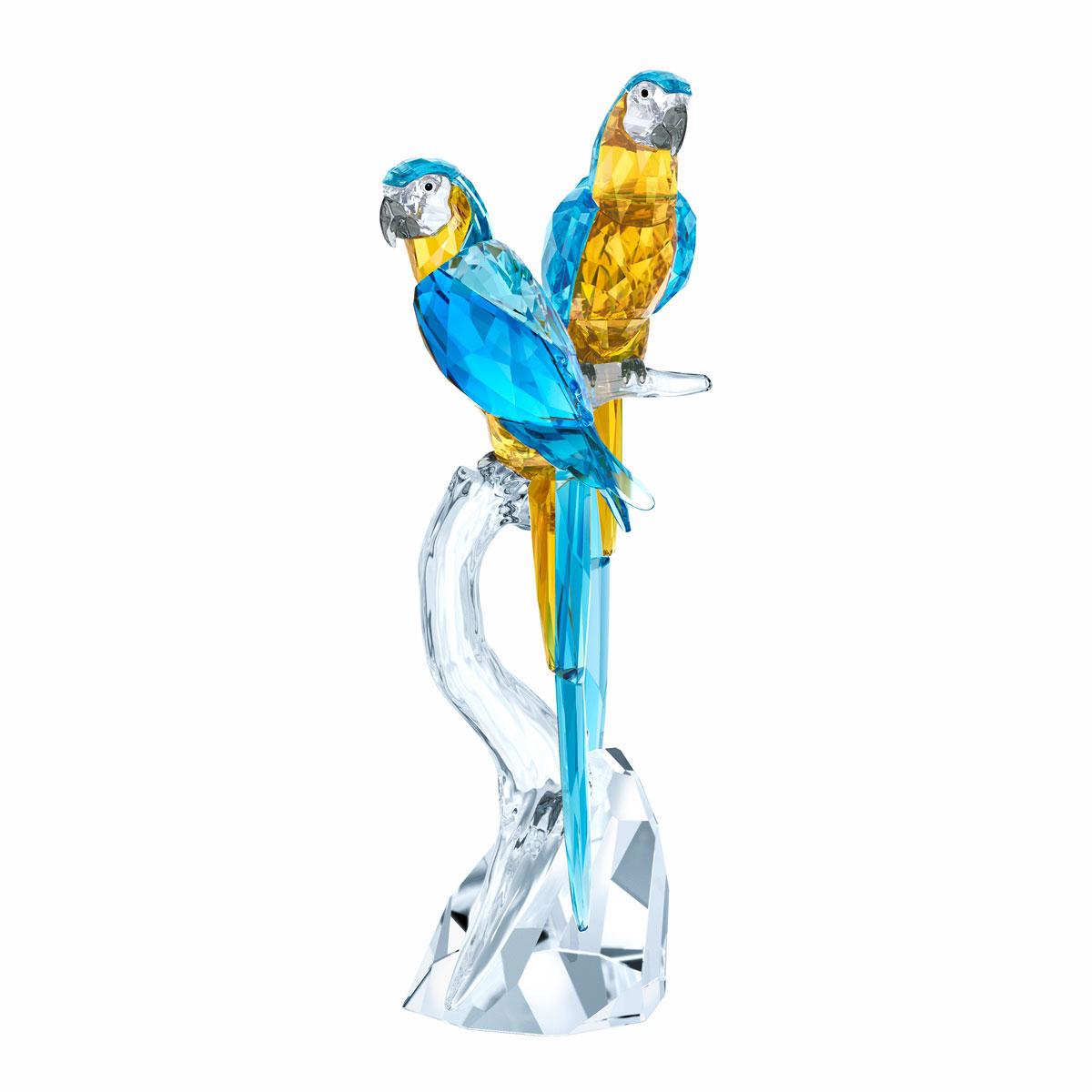 Swarovski Crystal Paradise Macaws