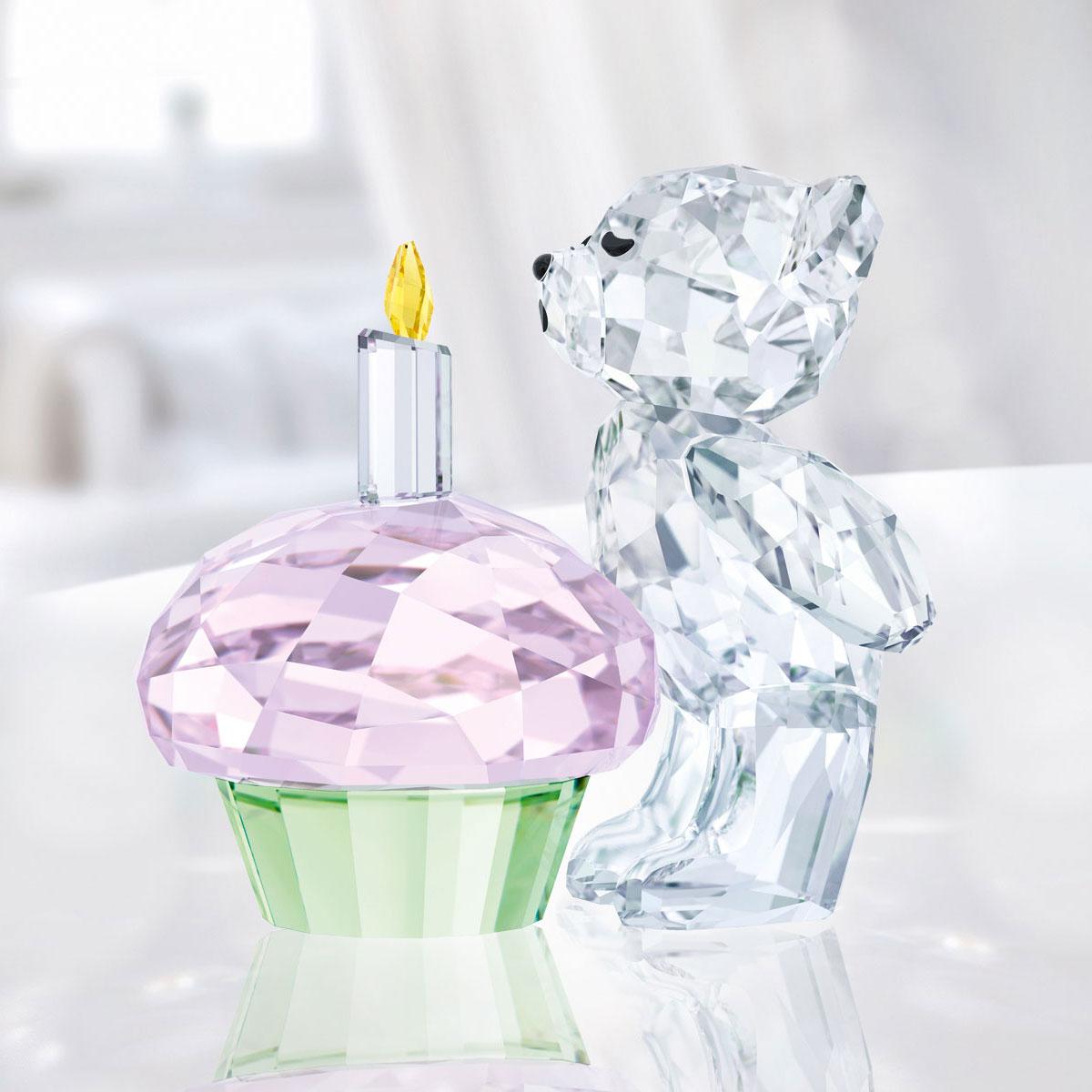 Swarovski Crystal Kris Bear Time To Celebrate
