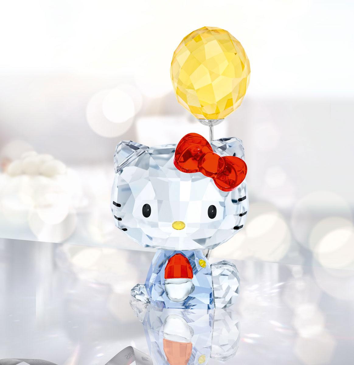 Swarovski Crystal Hello Kitty Balloon