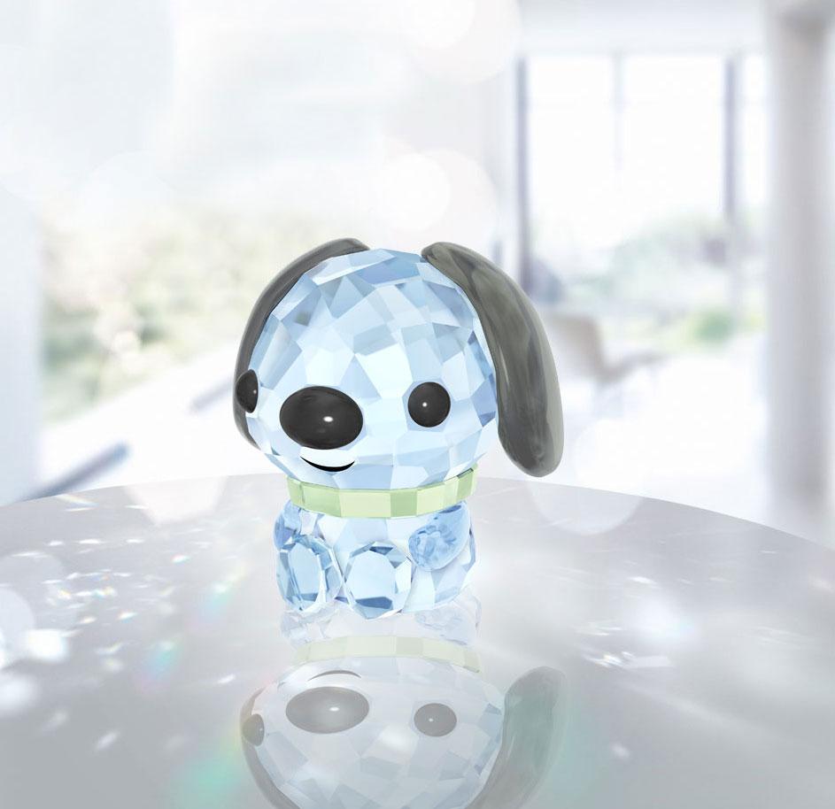Swarovski Crystal, Lovlots Zodiac Loyal Dog