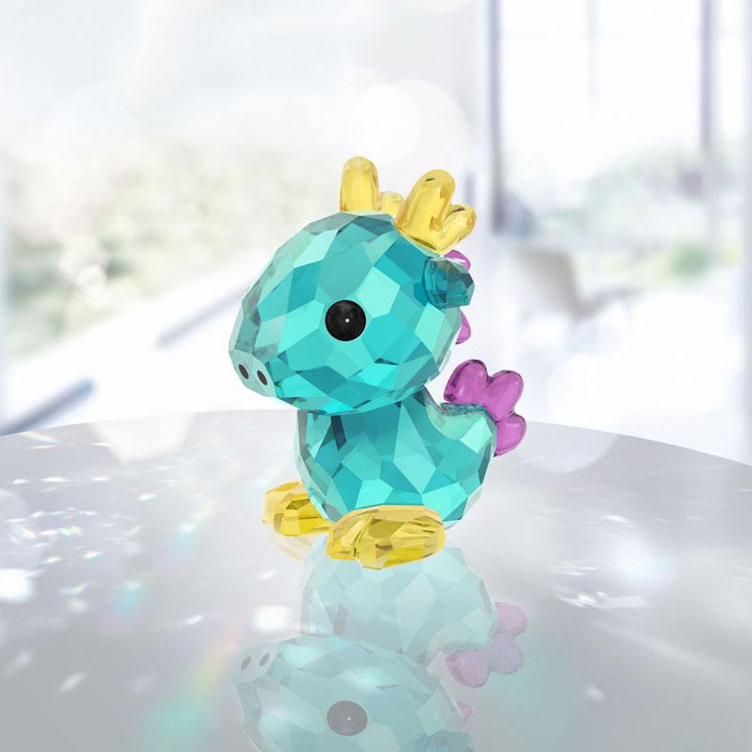 Swarovski Crystal Lovlots Zodiac Majestic Dragon
